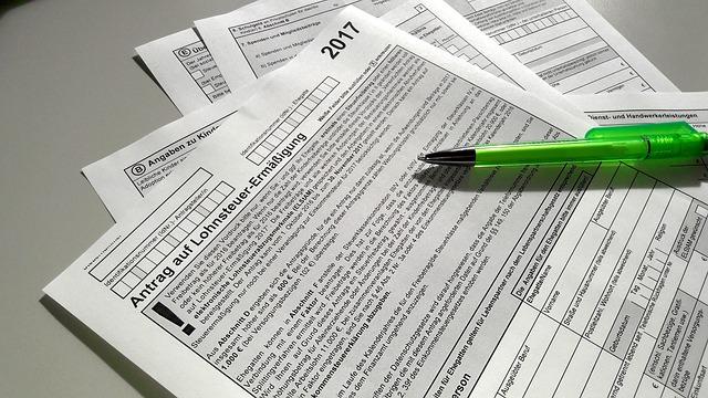 formuláře daňové přiznání