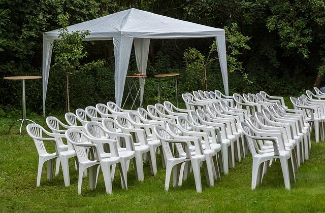 židle na oslavu