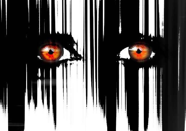 krvavé oči