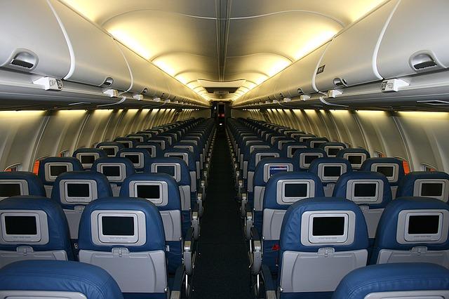 letadlo zevnitř