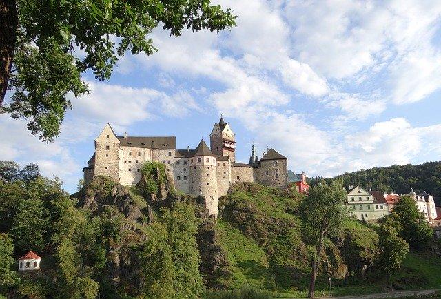 hrad na kopci